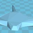 Free 3D model scratch, manchot