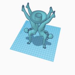 candlestick.png Télécharger fichier STL Bougeoir • Objet pour impression 3D, jankitokarczew