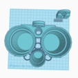 Bath Glasses_Vasos Baño (5).png Download free STL file Bathroom set • 3D printing template, jankitokarczew