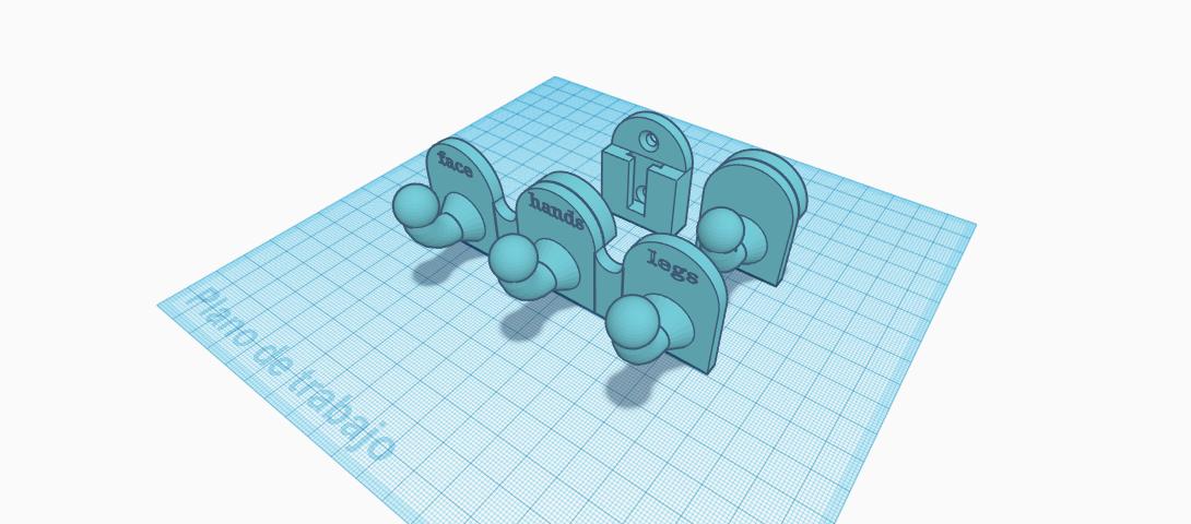 modular wall hanger (1).png Download free STL file Modular wall hanger • Design to 3D print, jankitokarczew