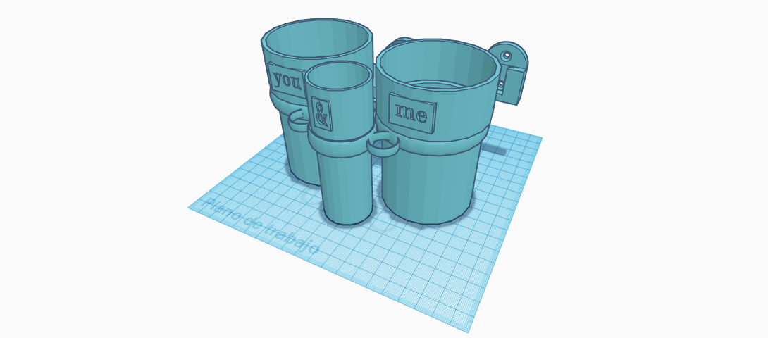 Bath Glasses_Vasos Baño (4).png Download free STL file Bathroom set • 3D printing template, jankitokarczew