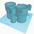 Download 3D printer model Bathroom set, jankitokarczew