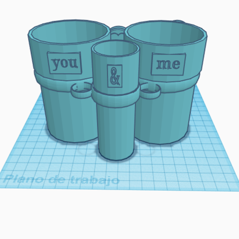 Bath Glasses_Vasos Baño (6).png Download free STL file Bathroom set • 3D printing template, jankitokarczew