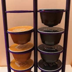 Download STL files Coffee pods shelves Dolce Gusto, jankitokarczew