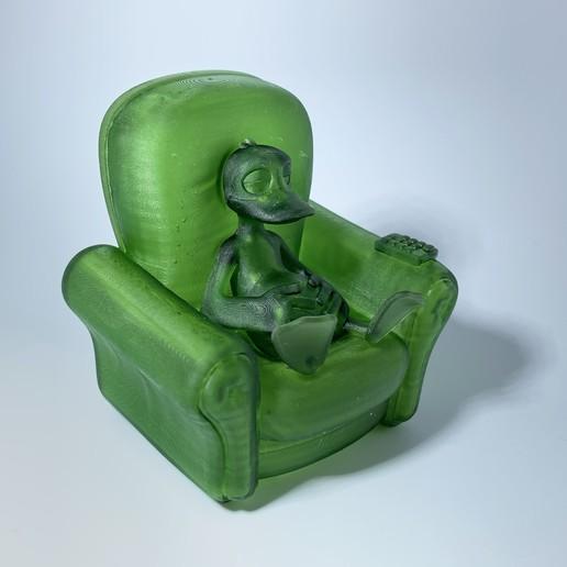 Duck_03.jpg Download free OBJ file Relaxed Duck • 3D printing template, BlackSpire