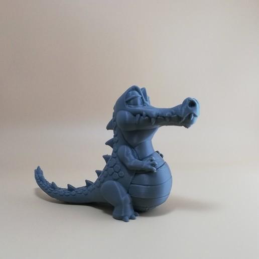 FDM2.jpg Télécharger fichier OBJ gratuit Crocodile heureux • Plan imprimable en 3D, BlackSpire