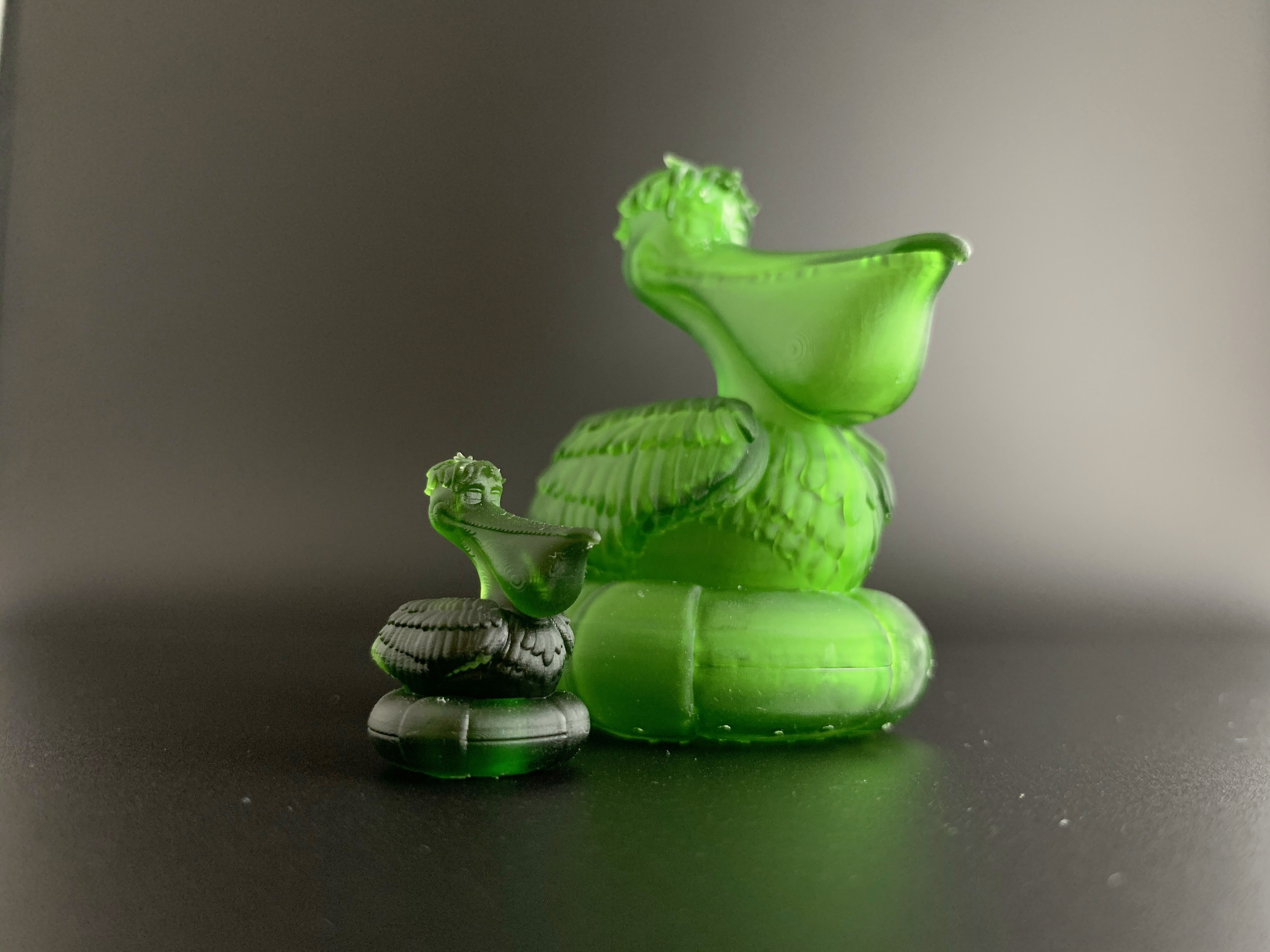 Pelican_09.jpg Download free OBJ file Cartoon Pelican • 3D printable object, BlackSpire