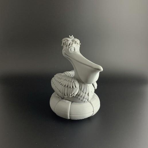 Pelican_03.jpg Download free OBJ file Cartoon Pelican • 3D printable object, BlackSpire