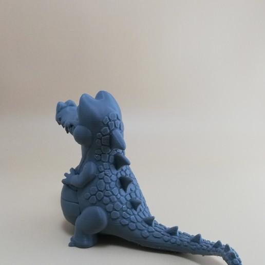 FDM1.jpg Télécharger fichier OBJ gratuit Crocodile heureux • Plan imprimable en 3D, BlackSpire