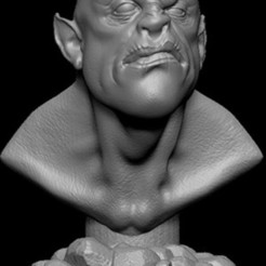 Download free STL file BusteMonster • Object to 3D print, Cyrilabyss