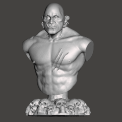Download free 3D printing files Orc, Cyrilabyss