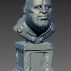 Télécharger modèle 3D gratuit Sculpt buste Character, Cyrilabyss