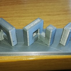 Free 3D print files NoYes, fils