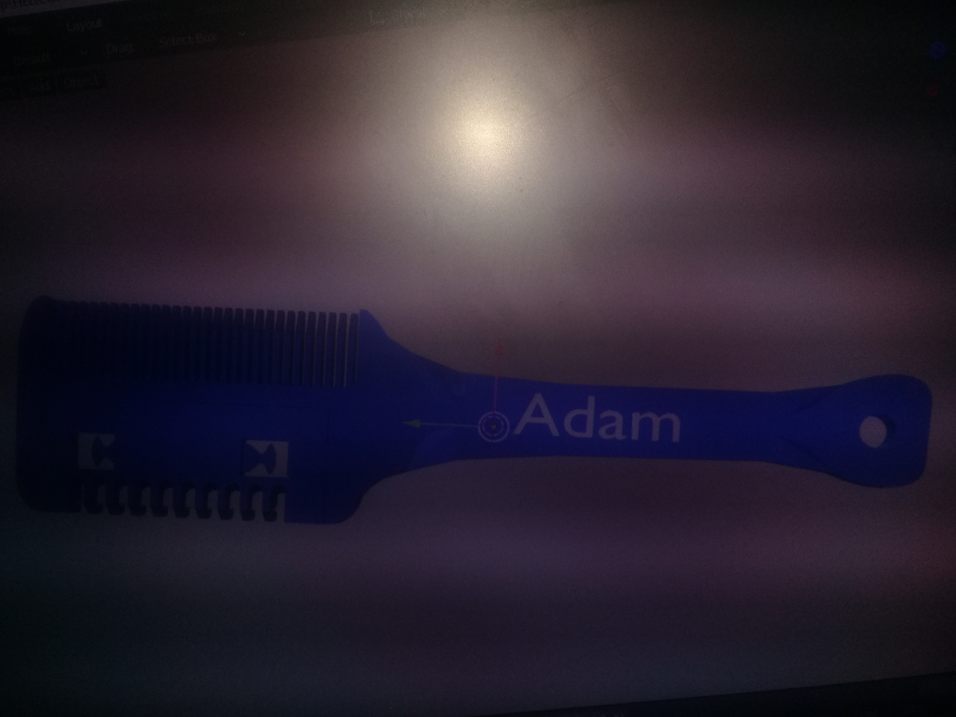 20201018_075600.jpg Download STL file Razor comb, hairdresser • 3D printer template, Destino