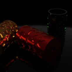 3_rouleaux.png Télécharger fichier STL Rouleau patisserie • Design imprimable en 3D, MelPrint