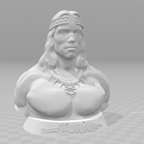 Free 3d printer designs Conan, priebrazuoles