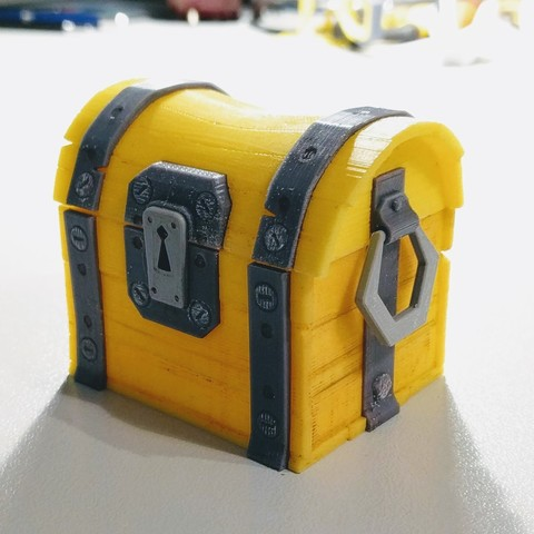 Free 3d printer model Fortnite Chest , blecheimer