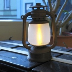 Free 3D printer files Shining Lantern, blecheimer