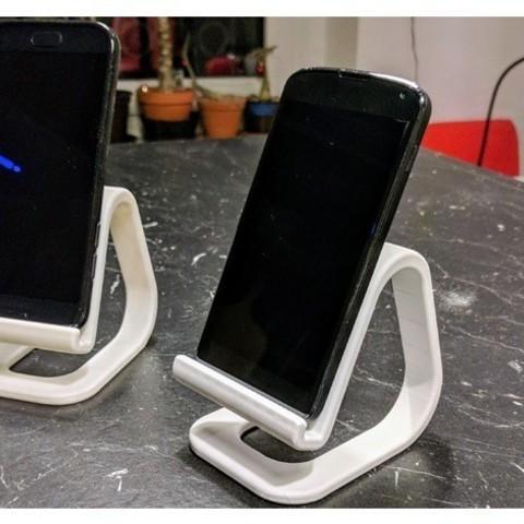 modelos 3d gratis Soporte universal para teléfono (incluso para teléfonos grandes), blecheimer