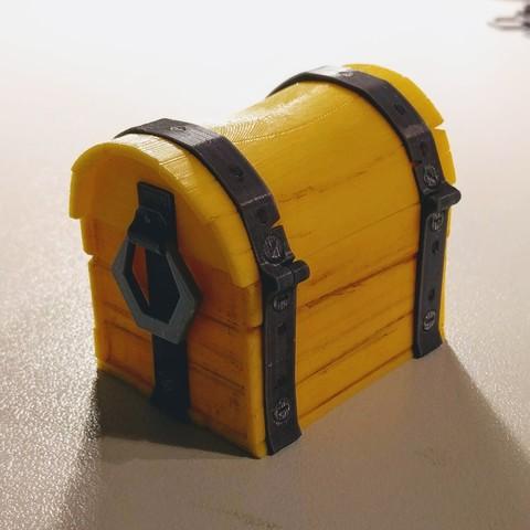 IMG_20180810_212854.jpg Download free STL file Fortnite Chest  • 3D print template, blecheimer