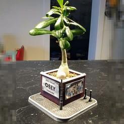 Imprimir en 3D gratis Sembradora Diorama Brickwall, blecheimer