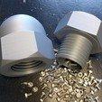 Free 3D print files Cap Nut Container, blecheimer