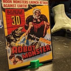 Impresiones 3D gratis Soporte simple para DVD o Blu-Ray, blecheimer
