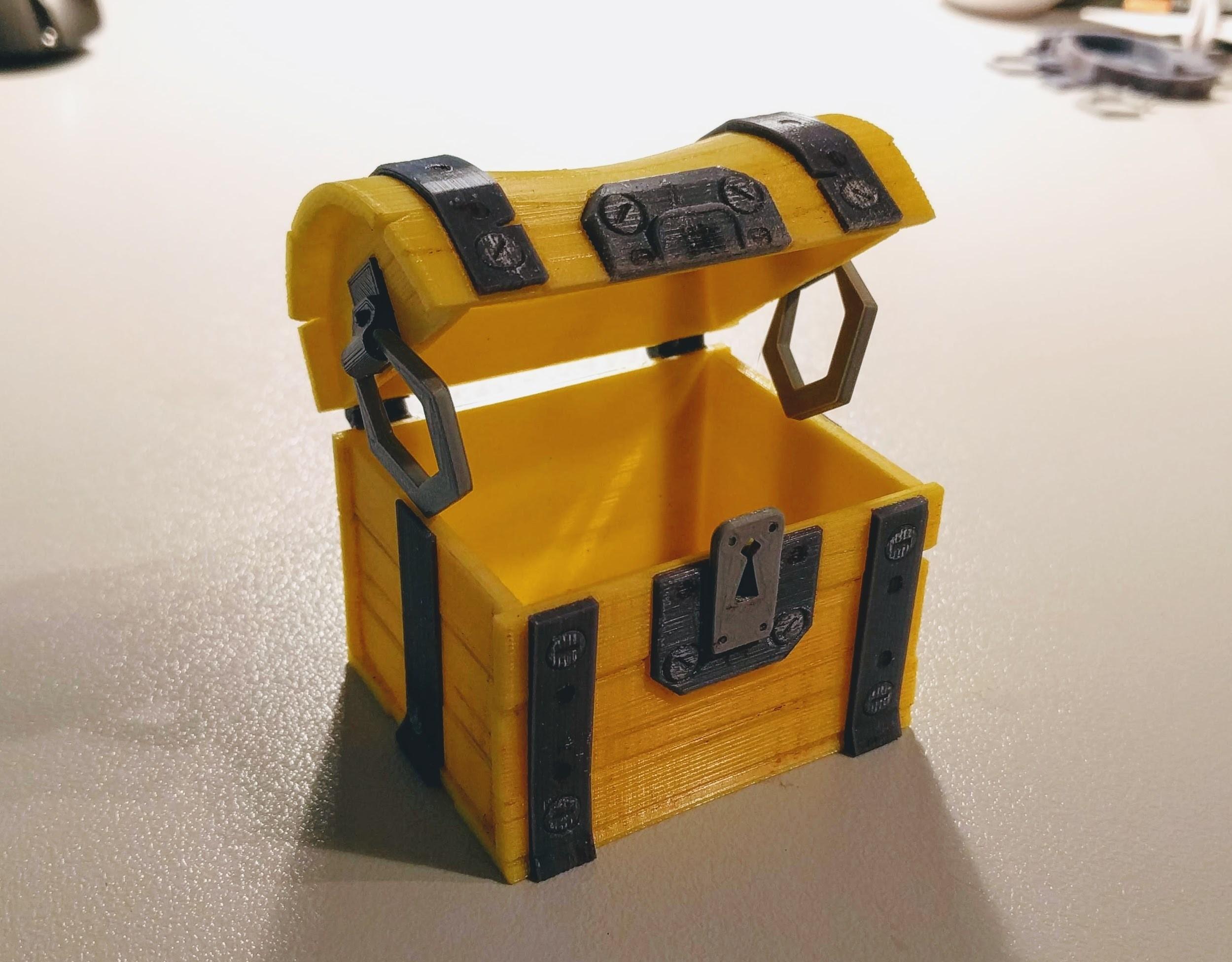 IMG_20180810_212929.jpg Download free STL file Fortnite Chest  • 3D print template, blecheimer