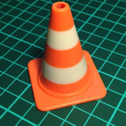 classic_cone_preview_featured.jpg Download free STL file Fashion Traffic Cones Collection • 3D printer template, Render