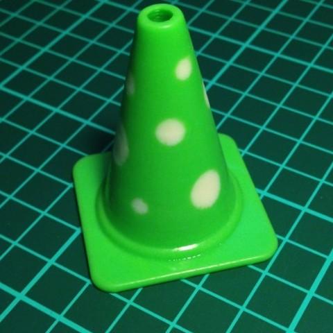 mole_cone_preview_featured.jpg Télécharger fichier STL gratuit Collection de cônes de circulation de la mode • Design imprimable en 3D, Render
