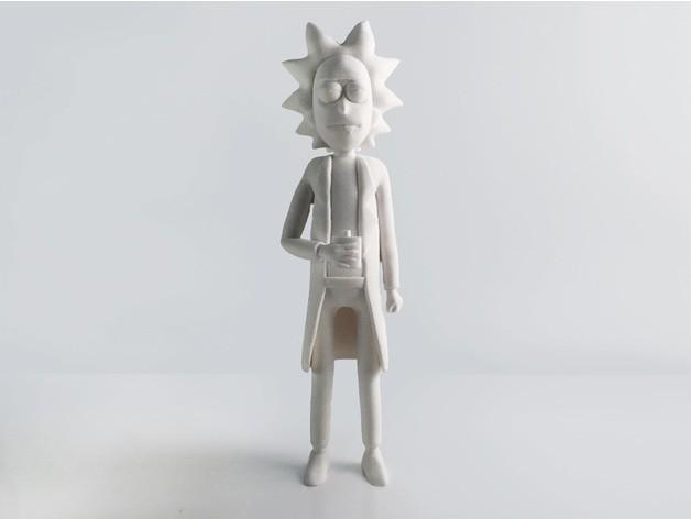 1ad376e767937501ef94319878e68b1b_preview_featured.jpg Download free STL file Rick Sanchez Rework • 3D printing design, Render