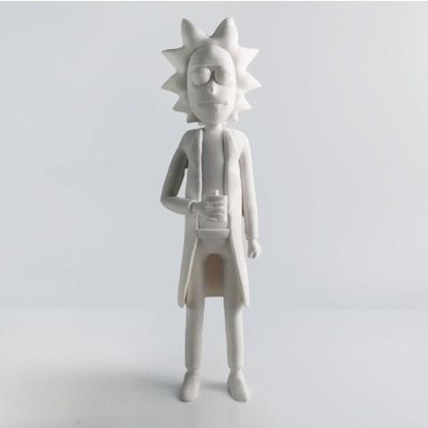 Impresiones 3D gratis Rick Sanchez Rework, Render