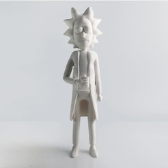Free 3d printer designs Rick Sanchez Rework, Render