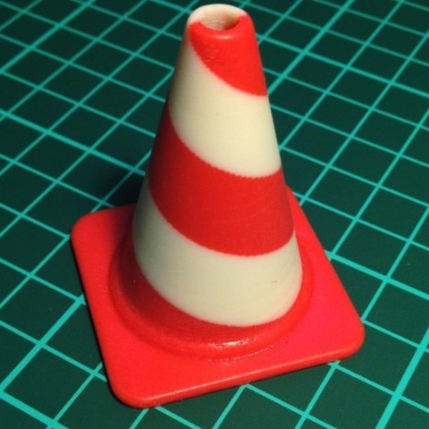 twist_cone_preview_featured.jpg Download free STL file Fashion Traffic Cones Collection • 3D printer template, Render