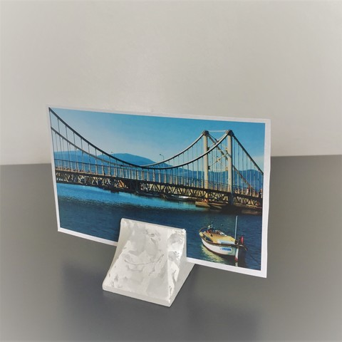 Free STL file BRIDGE PHOTO HOLDER, bonibond