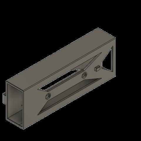 Download free 3D printing templates  Bicycle_lock_holder, david_eichler