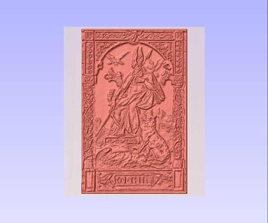 odin2.jpg Download free STL file odin wotan odino norse god • Design to 3D print, marctull297