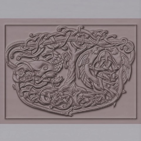 Imprimir en 3D árbol celta de la vida, marctull297