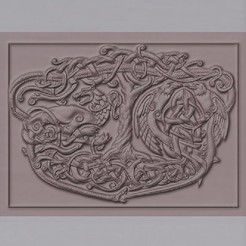 Download 3D printer designs celtic tree of life, marctull297