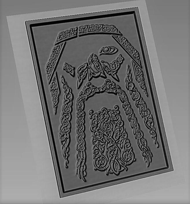 odin 6.1.jpg Download STL file odin 6 • 3D printing template, marctull297