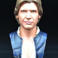 Modelo STL Busto de Han Solo gratis, zinny