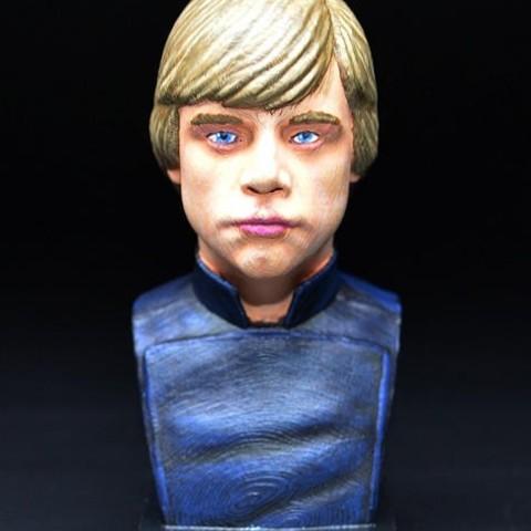 Modelos 3D para imprimir gratis Luke Skywalker v2, zinny