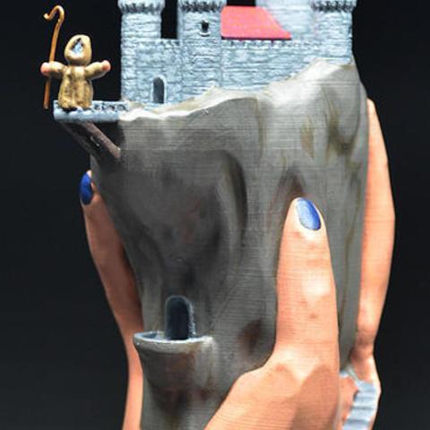 Télécharger fichier 3D gratuit Demeure de la main, zinny