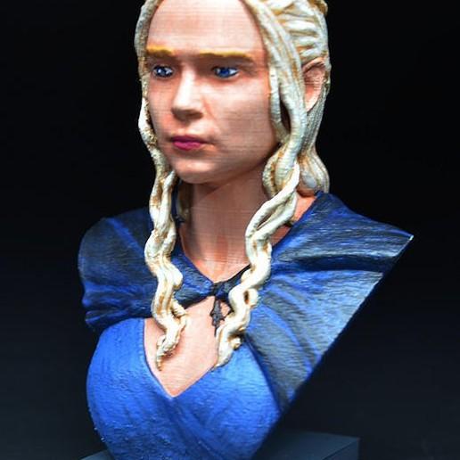 Download free STL Daenerys, zinny