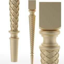 248.jpg Télécharger fichier OBJ pied de table pied de meuble Balustres • Objet pour imprimante 3D, sevysf