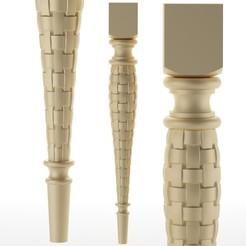252.jpg Télécharger fichier OBJ pied de table pied de meuble Balustres • Objet pour imprimante 3D, sevysf