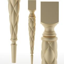 251.jpg Télécharger fichier OBJ pied de table pied de meuble Balustres • Objet pour imprimante 3D, sevysf