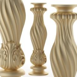 70.jpg Télécharger fichier OBJ pied de table pied de meuble Balustres • Objet pour imprimante 3D, sevysf