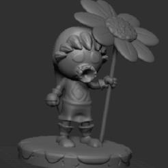 Deku LInk front.png Télécharger fichier STL Zelda Link Mojo Mask • Objet à imprimer en 3D, jdamu01