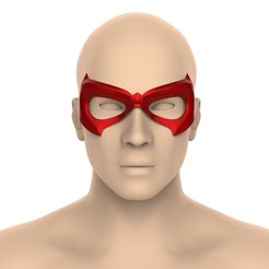 untitled.360.jpg Download STL file Robin\Nightwing mask • 3D printer model, Superior_Robin